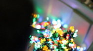 Colorful LED throwies in hands - large bundle all colors Stock Footage