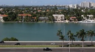 Stock Video Footage of Miami Highway