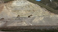 Construction gravel pit 2 Stock Footage