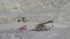 Construction Gravel pit 4 - stock footage