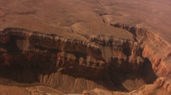 Grand Canyon Aerial 11 South Rim Stock Footage