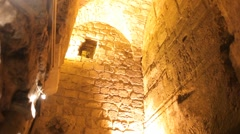 Western wall tunnels 10 Stock Footage
