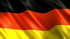 Flag of Germany Stock Footage