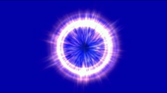 Abstract energy ray ball,flicker particle,radiation explosion science light. Stock Footage