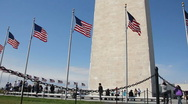 Stock Video Footage of The Washington Monument