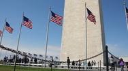 The Washington Monument Stock Footage