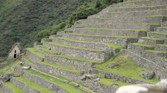 Machu Picchu Dolly Shot Stock Footage
