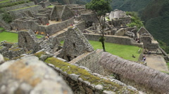 Machu Picchu Dolly Shot - stock footage