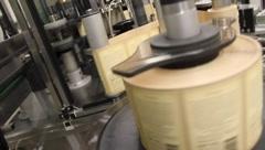 Wine Bottle Labels 6556 - stock footage