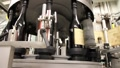 Wine Bottle Labeling Machine 6550 HD Footage