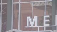 Arizona State University - Memorial Union Sign Pan Stock Footage