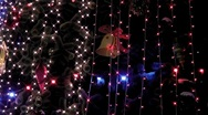 Stock Video Footage of christmas light 06