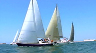 Stock Video Footage of Regatta