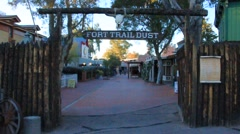 Old West town in Arizona Stock Footage