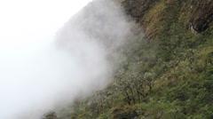 Inca Trail Mist Stock Footage