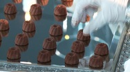 Chocolate Pralines Stock Footage