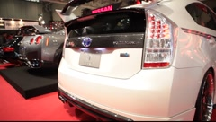 Tokyo Auto Salon Toyota Stock Footage