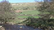 Stock Video Footage of Upland scenic shot near Reeth, Swaledale.