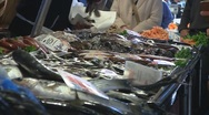 Stock Video Footage of Italian fish market