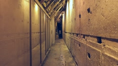 Western wall tunnels 3 Stock Footage