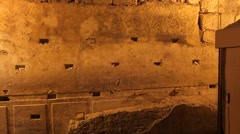 Western wall tunnels 5 Stock Footage
