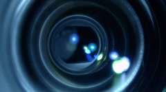 HD Camera Lens Focus -shallow depth 2 Stock Footage