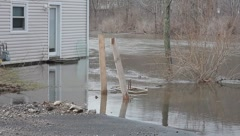 Local Flooding 3 Stock Footage