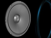 Speaker Emiting Waves Animation Alpha (NTSC) Stock Footage