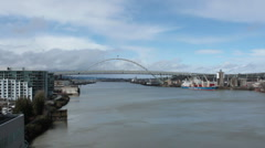 Fremont Bridge Stock Footage