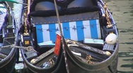 Stock Video Footage of Gondola in Venice, Italy