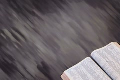 Bible with Motion Background 02 - stock footage