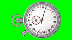 Chronometer Stopwatch Animated (HD) Stock Footage