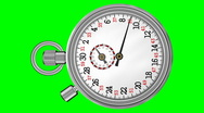 Stock Video Footage of Chronometer Stopwatch Animated (HD)