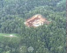 Oil Well in the Ecuadorian Amazon Stock Footage