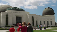 Griffith Park Observatory Stock Footage