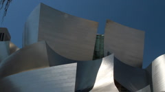 Walt Disney Concert Hall Stock Footage