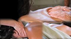 Massage Montage Stock Footage