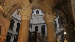 Church of the holy sepulchre P11 Stock Footage