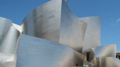 Walt Disney Concert Hall Stock Footage