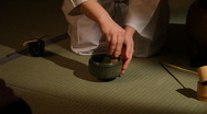Traditional Japanese Tea Ceremony 2 Stock Footage