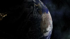 Stereoscopic 3D Earth 005 - HD Right Stock Footage