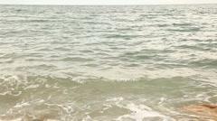 Dead sea surface, seamless loop Stock Footage