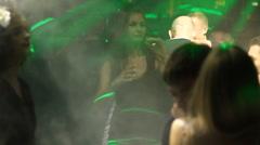 people dance editorial - stock footage