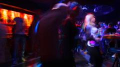 people dance TL - stock footage