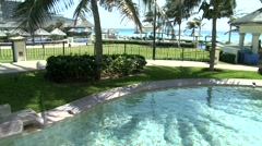 vacation place Cancun - stock footage