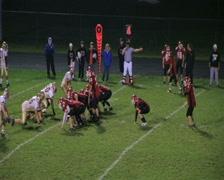 Football Interception 02 Stock Footage