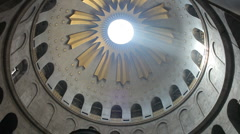 Church of the holy sepulchre P8 Stock Footage
