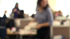 Office background - stock footage