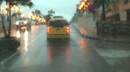 Stock Video Footage of Tropical storm Aruba island in the caribbean