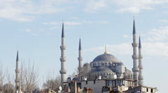 Stock Video Footage of  blue mosque istanbul turkey